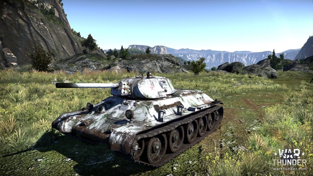 Камуфляж танка