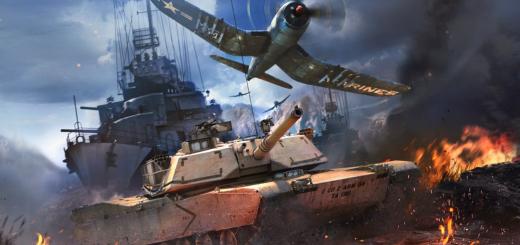 Первые шаги War Thunder